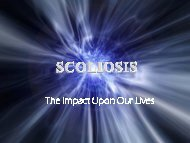 The Impact of Scoliosis - CLEAR Institute