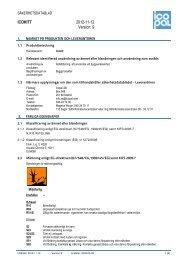 Säkerhetsdatablad Icokitt - Icopal AB