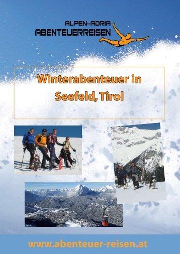 Winterabenteuer in Seefeld, Tirol - Abenteuer Reise in Österreich