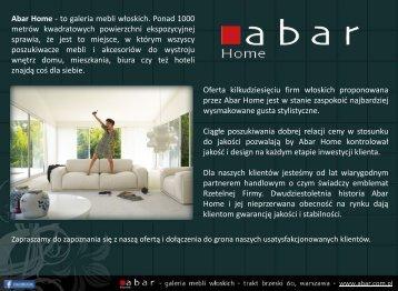 Portfolio Abar Home