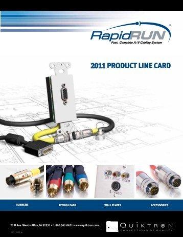 Read the Line Card - Quiktron