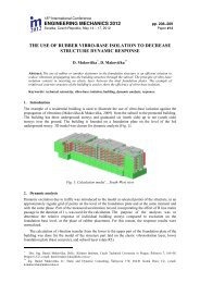 Extended Abstract - Engineering Mechanics