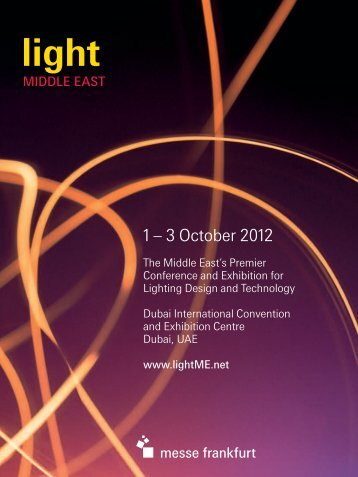 Exhibitor Brochure 2012 - Light Middle East