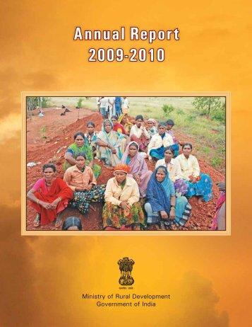Annual Report 2009-10.pdf - Ministry of Rural Development