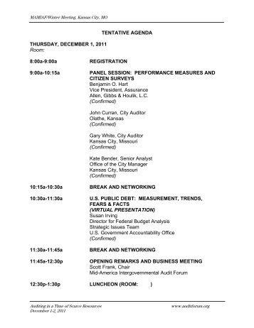 mamiaf - Intergovernmental Audit Forums