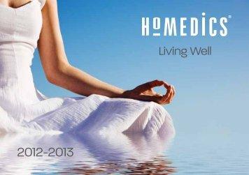 HoMedics Katalog 2012/2013 - Schimek Electronics