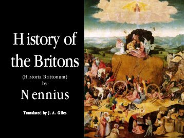 History of the Britons - Penn State University