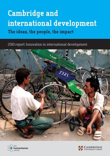 Cambridge and international development - The Humanitarian Centre
