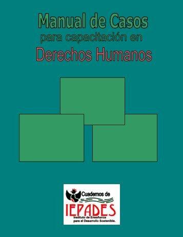 Manual de Casos para Capacitación en Derechos Humanos - Futuros
