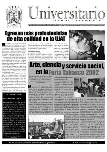 periodico 20may2002 - Publicaciones - Universidad Juárez ...