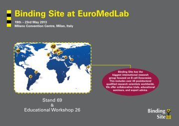 EuroMedLab invitation - Binding Site