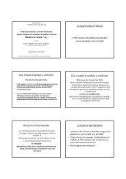 slides Bosi - Centro di analisi delle politiche pubbliche