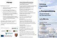 finden Sie das Programm - Europäische Endometriose Liga