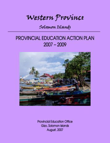 peap report exampler - paddle - The University of the South Pacific