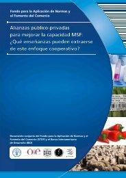 Alianzas público-privadas para mejorar la capacidad MSF