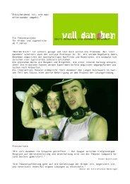 Voll daneben - Theater - Kunstdünger