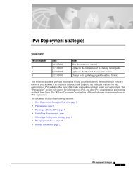 IPv6 Deployment Strategies