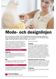 Mode- och designlinjen (pdf) - Folkuniversitetet