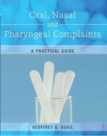 Oral, Nasal Pharyngeal Complaints - McGraw-Hill Australia
