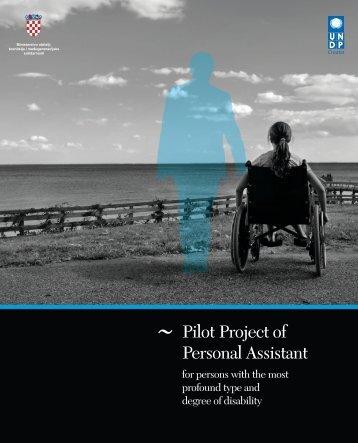 Pilot Project of Personal Assistant - UNDP Croatia
