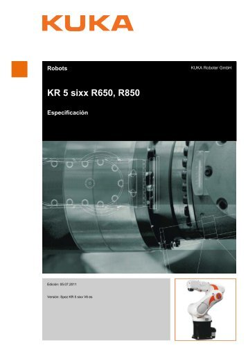 KR 5 sixx R650, R850 - KUKA Robotics