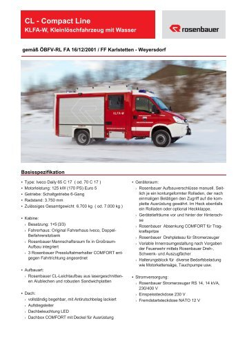 CL - Compact Line - Rosenbauer