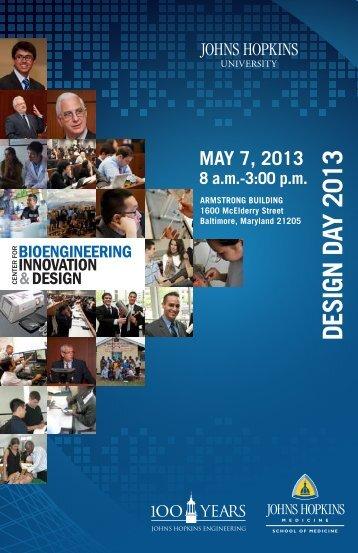 Design Day 2013 - Apply - Johns Hopkins University