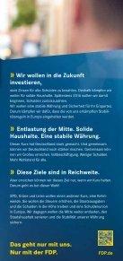Nur mit uns. Nur mit uns. - FDP Kreisverband Aschaffenburg Land - Seite 3