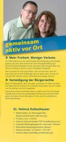 Nur mit uns. Nur mit uns. - FDP Kreisverband Aschaffenburg Land - Seite 5