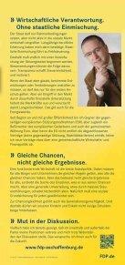 Nur mit uns. Nur mit uns. - FDP Kreisverband Aschaffenburg Land - Seite 6