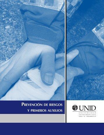 PREVENCIÓN DE RIESGOS Y PRIMEROS AUxILIOS