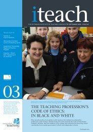iteach Sept 05 - Issue 03 0433.indd - Victorian Institute of Teaching