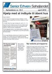 Senior ErhvervSøhøjlandet - Senior Erhverv Danmark