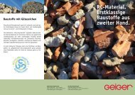 Recycling-Material ( pdf | 279 5 KB) - Geiger