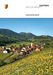 LeitbiLd bezirk Gonten - in Gonten