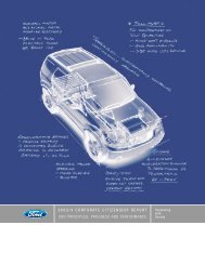 2003 Corporate Citizenship Report - Ford Motor Company