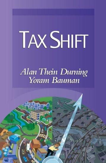 Tax Shift All ID3.indd - Sightline Institute