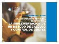 LA IMPLEMENTACION DE UN METODO DE CALCULO Y ... - Erkide