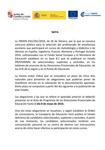 Resolucion Provisional
