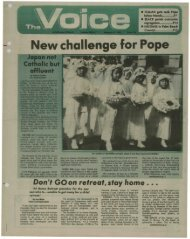 New challenge for Pope