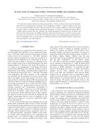 Physical Review B 81, 104108 - DR. CLAUDIO CAZORLA