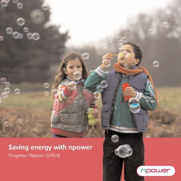 Saving energy with npower