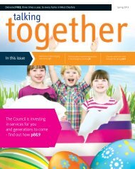 Talking Together | Spring 2013 - Cheshire West and Chester