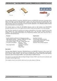 Easy-Radio ER900TS, ER900RS & ER900TRS 1-1 - AVRcard