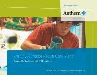 EmployeeChoice Health Care Plans - Health Home 1