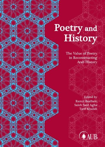 Poetry and History - Department of Near Eastern Languages and ...