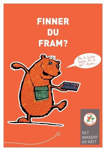 FINNER DU FRAM? - Norges orienteringsforbund