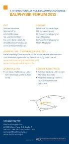 BAuphysik Forum 2013 - proHolz Tirol - Seite 7