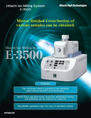 To download the E-3500 product flier, please click here!