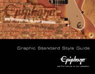 Download the Epiphone Style Guide (PDF)